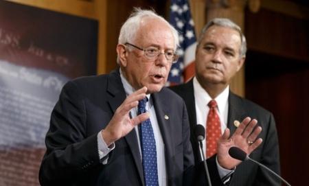 Senator Sanders & Represenative Miller